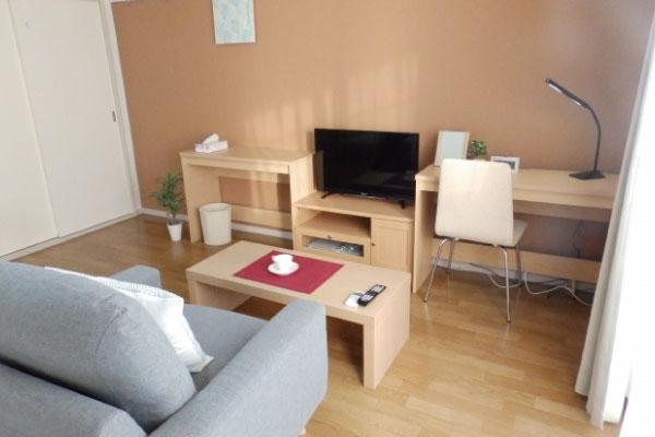 神奈川県小田原市・厚木市のマンスリー・ウィークリーマンションはカバン一つで入居することができる程の充実設備が予め備わっていますので、 出張や研修、急な仮住まい、個人旅行にも即日対応することができます☆