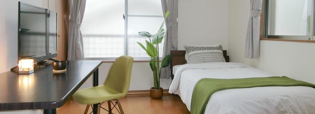 神奈川県小田原市の小田原駅周辺や栄町を中心に利用可能なマンスリー・ウィークリーマンションです。法人様の出張や研修に便利な家具家電付きのお部屋です。