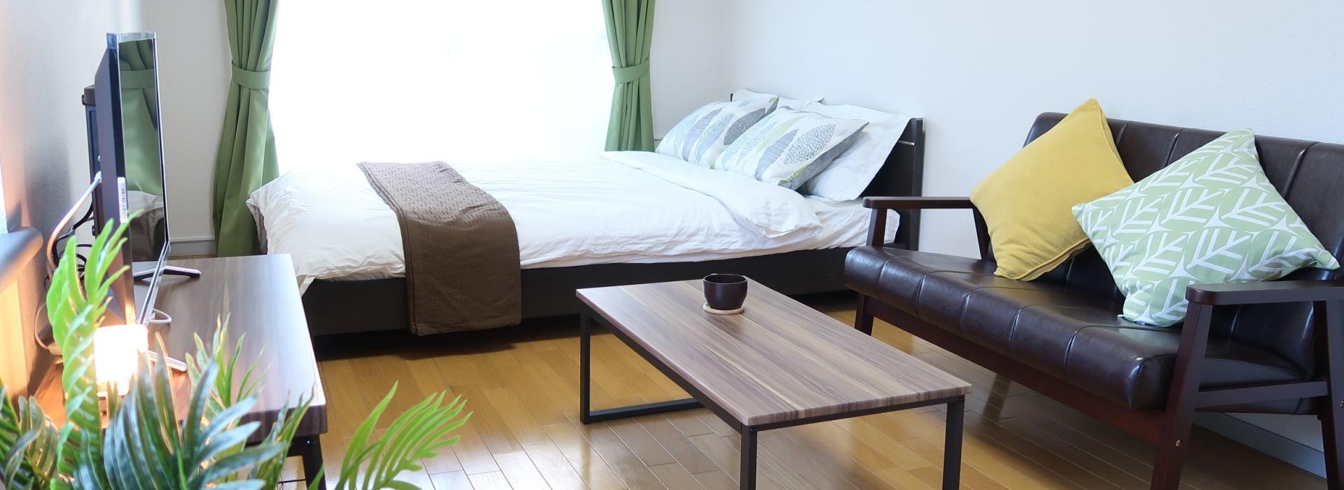 神奈川県小田原市・厚木市でウィークリー、マンスリーマンションを運用しています。 法人の研修や出張、個人旅行に便利な家具家電付。